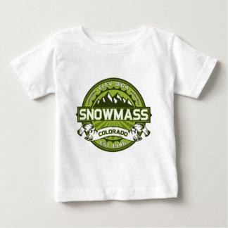 Snowmass Green Baby T-Shirt
