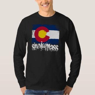 Snowmass Grunge Flag T-Shirt
