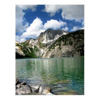 Snowmass Lake / Peak - Maroon Belles Postcard