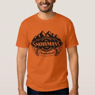 Snowmass Mountain Emblem Black T-Shirt
