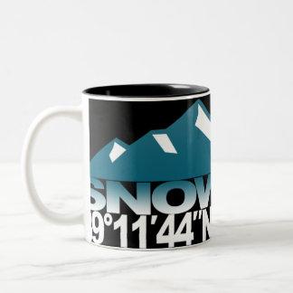 Snowmass Mountain GPS Ice Mug