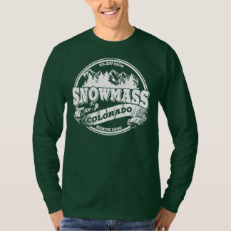 Snowmass Old Circle White T-Shirt