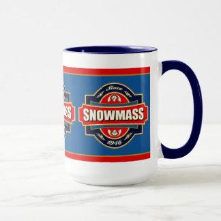 Snowmass Old Label Mug