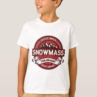 Snowmass Red T-Shirt
