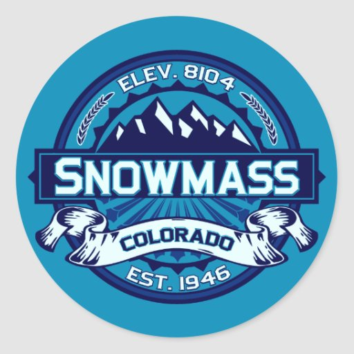 Snowmass Stickers Ice