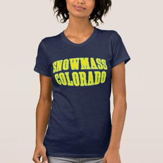 Snowmass Yellow T-Shirt