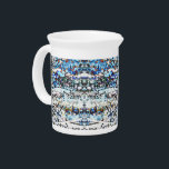 """&quot;SnowMelt&quot; 19oz. Porcelain Pitcher<br><div class=""""desc"""">Goes nicely with the china cups! Tea time. Or Use as a Creamer pitcher for coffee when hosting a Dinner Party. Part of the &quot;Boardwalk&quot; original design series by ColourHarmonix&#169;.</div>"""