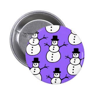 Snowmen Button