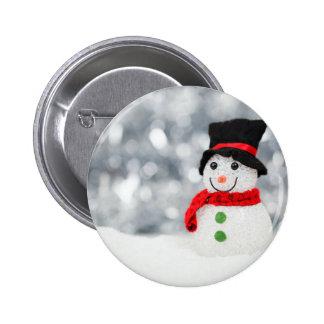 Snowmen Pinback Buttons
