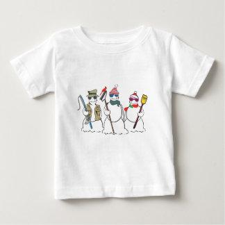 snowmen child's tee