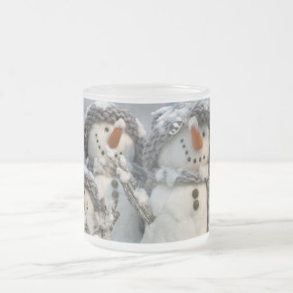 Snowmen Christmas mug