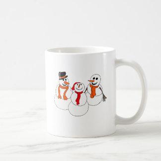 snowmen coffee mug