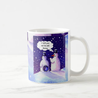 Snowmen Don't Eat Beans Coffee Mug