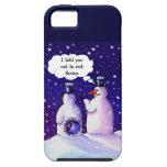 Snowmen Don't Eat Beans iPhone 5 Case