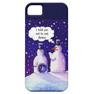 Snowmen Don't Eat Beans iPhone SE/5/5s Case