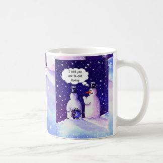 Snowmen Don't Eat Beans Coffee Mugs