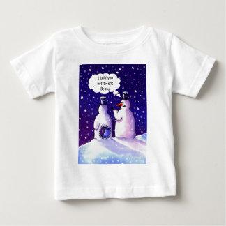 Snowmen Don't Eat Beans Tshirts