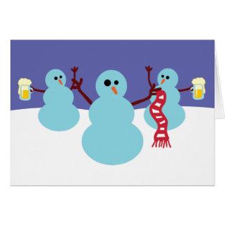 Snowmen Gone Wild! Cards