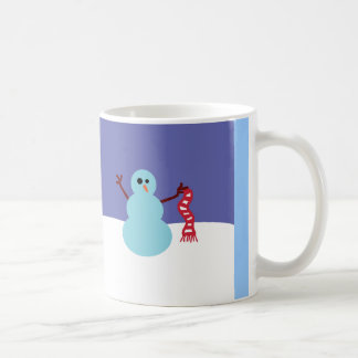 Snowmen Gone Wild! Classic White Coffee Mug