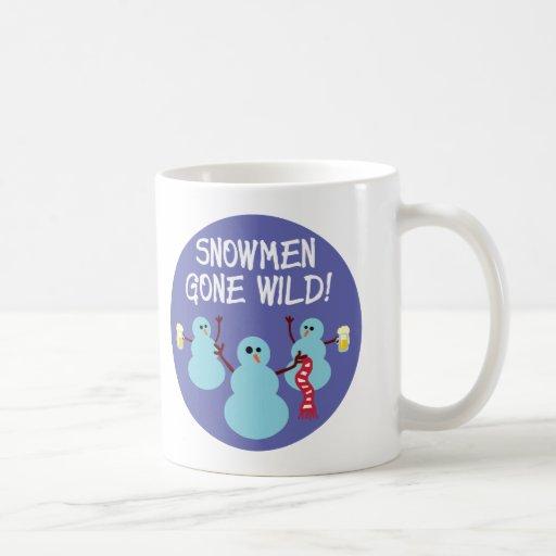 Snowmen Gone Wild! Coffee Mug