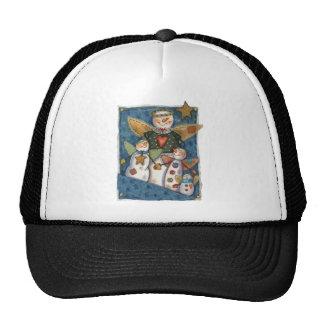 Snowmen in Pocket Trucker Hat
