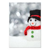 Snowmen Invitation