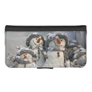 Snowmen merry Christmas iphone case