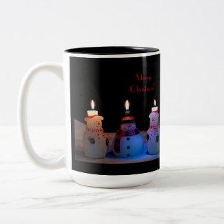 Snowmen Merry Christmas Mug