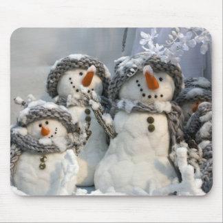 Snowmen Mouse Pad