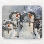 Snowmen Mousepad