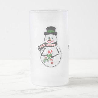 Snowmen on Frosty 16 oz. Mug