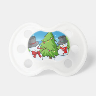 snowmen pacifier