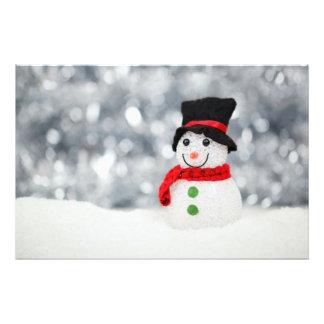Snowmen Photo Art