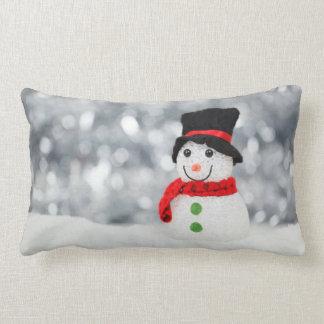 Snowmen Throw Pillows