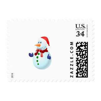 Snowmen Postage