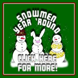 snowmen print