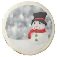Snowmen Sugar Cookie