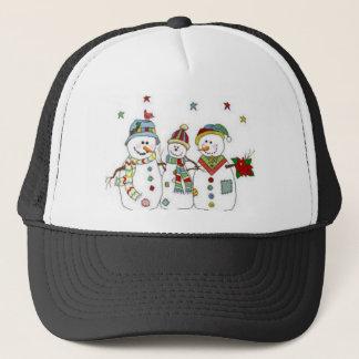 Snowmen Trucker Hat