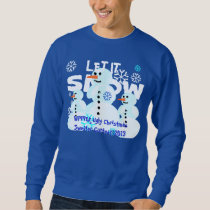 Snowmen Ugly Christmas Sweater Day