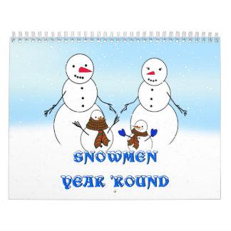 SNOWMEN YEAR ROUND CALENDARS