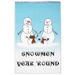 SNOWMEN YEAR 'ROUND CALENDAR