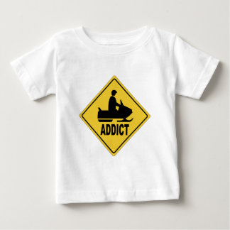 Snowmobile 1 baby T-Shirt