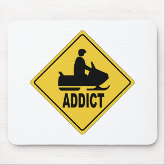 Snowmobile 1 mouse pad