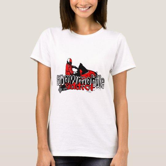 Snowmobile Addict T-Shirt