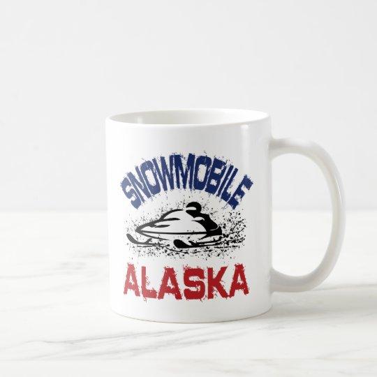 Snowmobile Alaska Coffee Mug