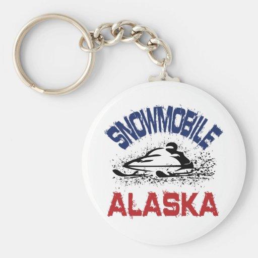 Snowmobile Alaska Llaveros