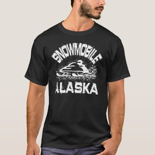 Snowmobile Alaska T-Shirt