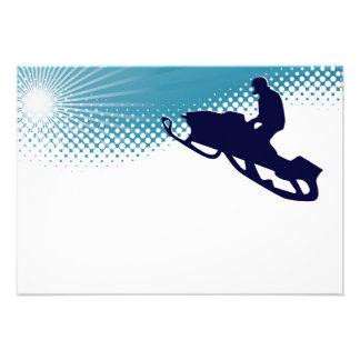 snowmobile altísimo comunicado personalizado