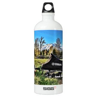 snowmobile aluminum water bottle