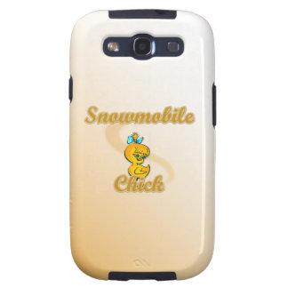 Snowmobile Chick Samsung Galaxy S3 Case